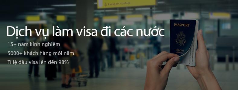 Dịch vụ visa nước ngoài
